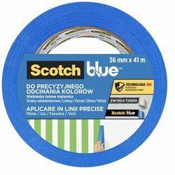 Taśma malarska do odcinania kolorów 36 mm x 41 m SCOTCHBLUE