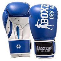 Rękawice do walki, BOXEUR Rękawice bokserskie bxt-5127 (10 oz) BLUE