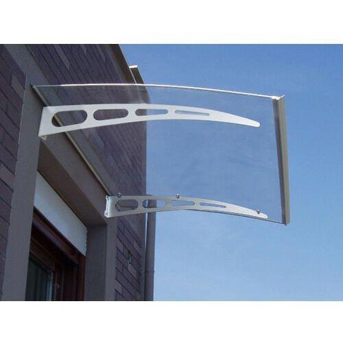 Pozostały wystrój okien, Proste zadaszenie NEONA z aluminium - 150*90*15cm