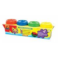 Pozostałe zabawki edukacyjne, Masa plastyczna 4 małe tuby