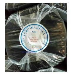 Agrowółknina ściółkujaca PP 50 g/m2 czarna 1,6 x 100 mb. Rolka o wadze 8,6 kg.