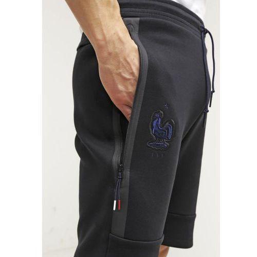 cc6d452fd Pozostała odzież sportowa, Nike Performance FFF FRANCE TECH FLEECE Koszulka  reprezentacji black/obsidian
