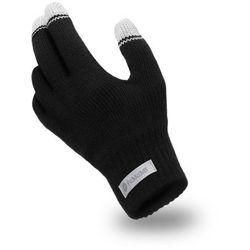 Rękawiczki męskie PaMaMi - Czarny - Czarny