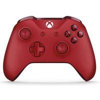 Pozostałe gry i konsole, Microsoft Xbox One Wireless Controller Red WL3-00028