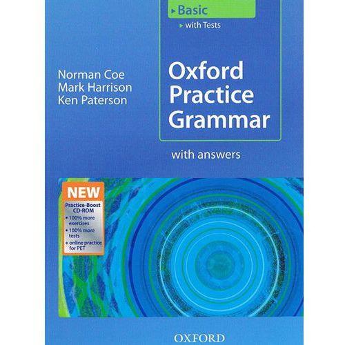 Książki do nauki języka, Oxford practice grammar basic+Cd (opr. miękka)