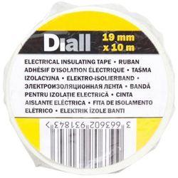 Taśma izolacyjna Diall PCV 19 mm x 10 m biała