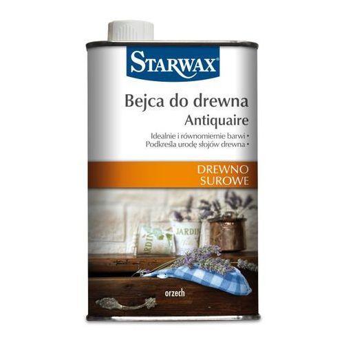 Podkłady i grunty, Bejca do drewna surowego Starwax orzech 0,5 l