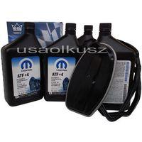 Oleje przekładniowe, Olej MOPAR ATF+4 oraz filtr automatycznej skrzyni biegów NAG1 Jeep Cherokee 2008-