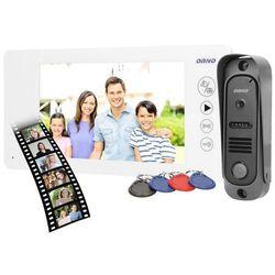 """Zestaw wideodomofonowy ARCUS RFID 7"""", biały"""