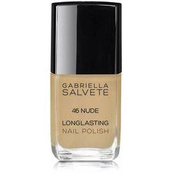 Gabriella Salvete Longlasting Enamel lakier do paznokci 11 ml dla kobiet 46 Nude