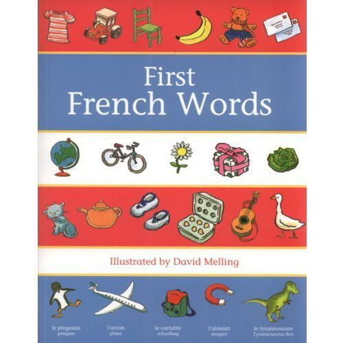 Książki do nauki języka, Oxford First French Words (opr. miękka)