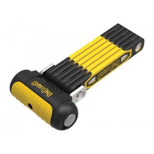 Zabezpieczenia do roweru, Zapięcie rowerowe ONGUARD Link Plate Lock REVOLVER X4P 8128 SKŁADANE - 79cm - 5 x Klucze z kodem