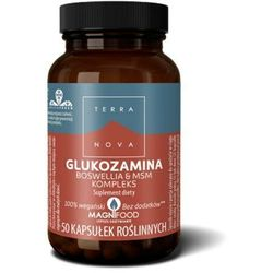 Glukozamina Boswellia & MSM Kompleks 50 kaps.
