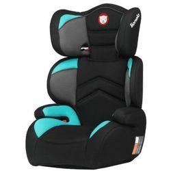 Lionelo fotelik samochodowy 15-36 kg Lars Plus czarny/niebieski