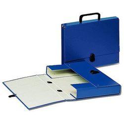 Teczka tekturowa z rączką, grzbiet 40mm, niebieska Esselte 99335
