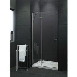 NEW TRENDY MODENA Drzwi prysznicowe 90x190 lewe, profile chrom, szkło czyste EXK-1005 * wysyłka gratis