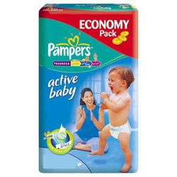 Pieluchy Pampers Active Baby (4+) 9-16kg - 70szt.