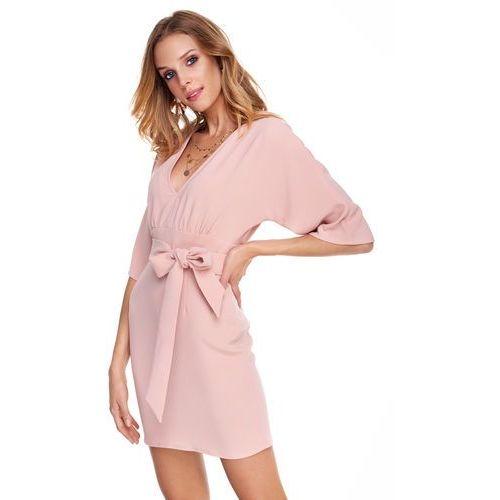Suknie i sukienki, Sukienka Silia w kolorze brzoskwiniowym