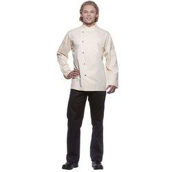 Bluza kucharska męska, rozmiar 62, kremowa   KARLOWSKY, Julius