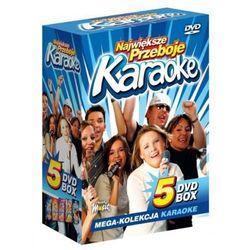 Największe Przeboje Karaoke VOL. 1 - Mega Kolekcja Karaoke (5 płyt DVD)