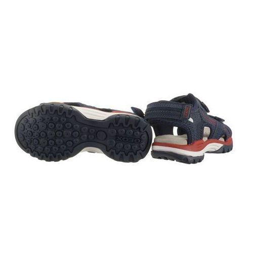 Sandały dziecięce, GEOX J920RD J BOREALIS BOY 000CE C0735 navy/red, sandały dziecięce, rozmiary:26-27