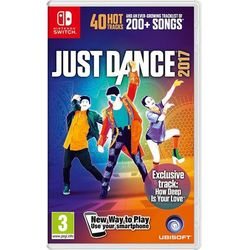 Ubisoft gra Just Dance 2017 na konsolę Nintendo Switch