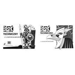 Blok techniczny z czarnymi kartkami A3 10 kartek
