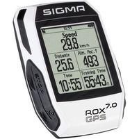 Liczniki rowerowe, Sigma licznik ROX GPS 7.0 biały