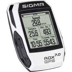 Sigma licznik ROX GPS 7.0 biały