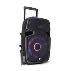 "Fenton FT15JB kolumna aktywna 15"" 800W BT/USB/SD/AUX-In LED Jelly Ball mikrofon"