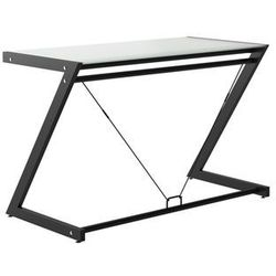 Biurko DD Z-Line - Desk Plus - czarne - szklane NEGOCJUJ CENĘ