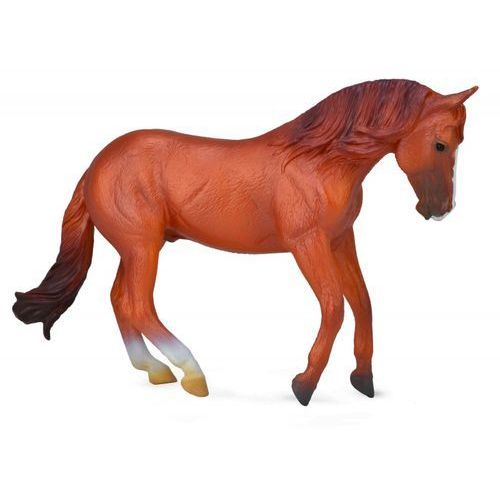 Figurki i postacie, Ogier rasy Australian stock horse kasztan