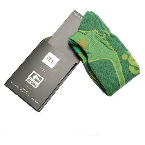 Odzież do sportów zimowych, skarpetki GLOBE - Yes/Globe Park Rat Sock Lime (LIME) rozmiar: L/XL