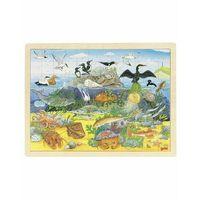Puzzle, Puzzle zwierzęta nadmorskie i podwodne