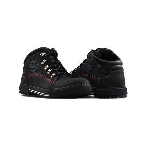 Pozostałe obuwie męskie, Trzewiki Rammit 717/2 CH03 Czarne