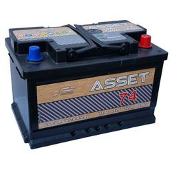 Akumulator Asset 12V 74Ah / 720 A niski