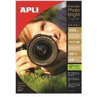 Papiery fotograficzne, Papier fotograficzny APLI Everyday Photo Paper, A4, 200gsm, błyszczący, 50ark.