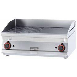 Płyta grillowa gazowa ryflowana   795x450mm   12000W   800x600x(H)280mm