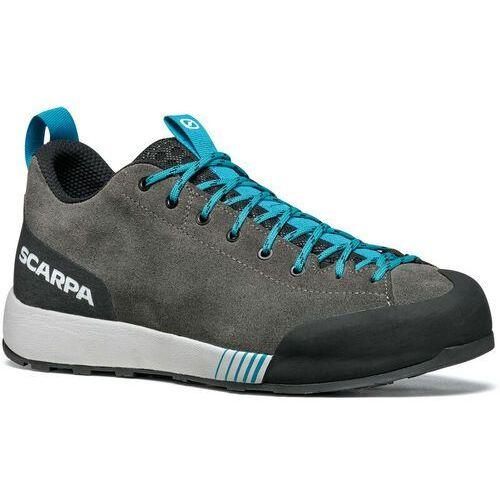 Pozostała odzież sportowa, Scarpa Gecko Shoes Men, shark/azure EU 42,5 2021 Buty podejściowe