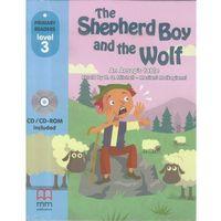 Książki do nauki języka, The Shepherd Boy and The Wolf + CD-ROM (opr. broszurowa)