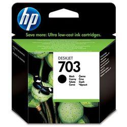 HP 703 oryginalny wkład atramentowy Ink Advantage czarny