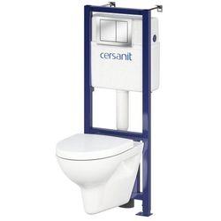 Zestaw podtynkowy WC Cersanit Vario bezkołnierzowy z deską wolnoopadającą