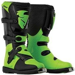 THOR BUTY YOUTH BLITZ S6 OFFROAD BLACK/GREEN =$
