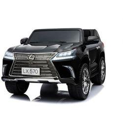 Lexus lx570 mp4 lcd czarny lakier 2 osobowy wzmocniony do 50kg