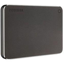 Dysk zewnętrzny Toshiba Canvio Premium 1TB, USB 3.0, dark grey