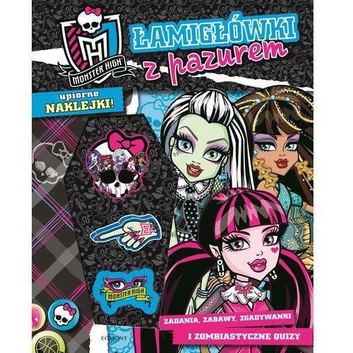 Literatura młodzieżowa, Łamigłówki z pazurem Monster High. (opr. broszurowa)