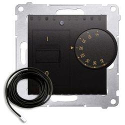 Regulator temperatury Simon 54 DRT10Z.02/48 z czujnikiem zewnętrznym antracyt Kontakt-Simon