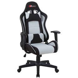 Fotel gamingowy SIGNAL Zanda czarny-szary - ZŁAP RABAT: KOD50