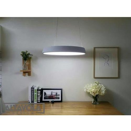 Lampy sufitowe, Lampa wisząca SMD 3 szary