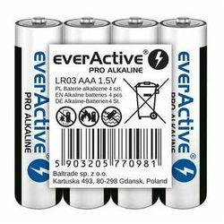 Baterie alkaliczne AAA/LR03 everActive Pro Alkaline 4 sztuki